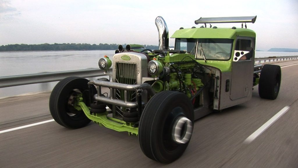 BAD A$$ Custom Peterbilt RAT ROD SEMI