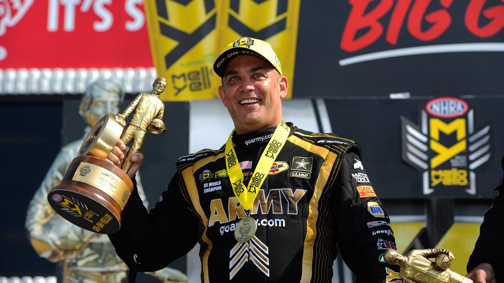 Tony Schumacher WINS 10th Chevrolet Performance U.S. Nationals
